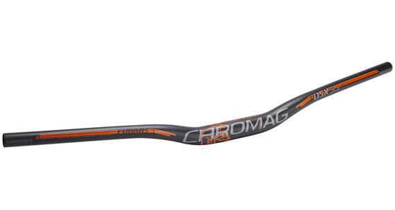 Chromag Fubars OSX 35 Lenker 800 mm schwarz/orange